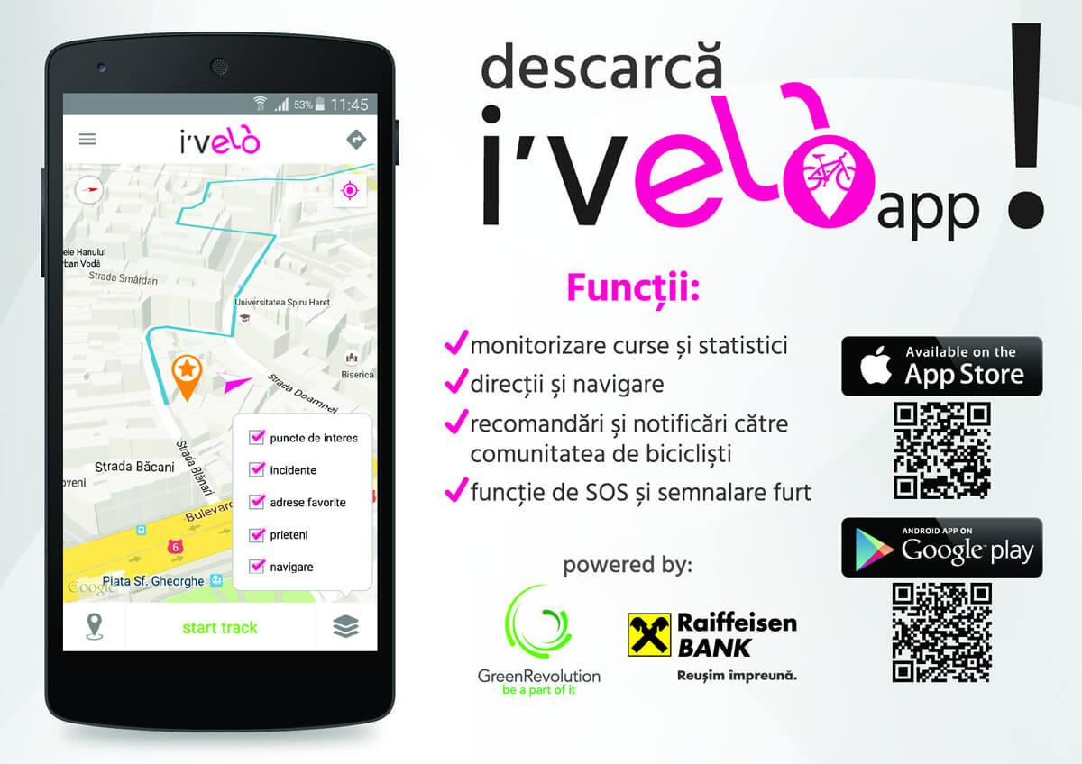 I'Velo » Aplicație de mobil