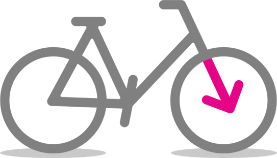 """I'Velo » Icon """"Bike returnare"""""""