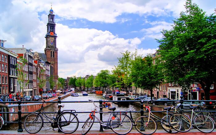 Biciclete în Amsterdam